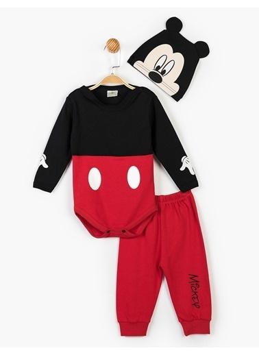 Mickey Mouse Set Siyah